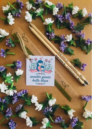 Anneler Günü Hediyesi Çiçek Açan Tohumlu Kalem 05417985133 #tohumlukalem